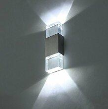 Unimall 6W LED Wandleuchte Innen Flurlampe mit
