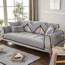 Unimall Sofabezug Cartoon Sesselbezug Grau