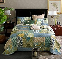 Unimall Tagesdecke Baumwolle Paisley Patchwork 230