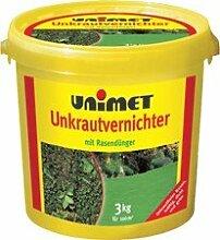 Unimet Dünger + Unkraut Vernichter 3Kg Eimer