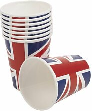 Union Jack entworfen Partybecher multi