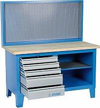 Unior 946AC Werkbank mit Werkzeuglochwand