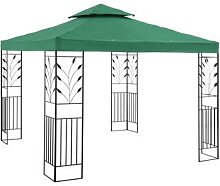 Uniprodo Gartenpavillon - 3 x 3 m - 180 g/m² -