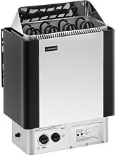 Uniprodo Saunaofen - 6 kW - 30 bis 110 °C - inkl.