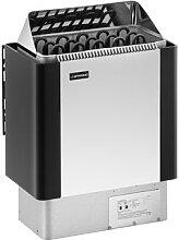 Uniprodo Saunaofen - 8 kW - 30 bis 110 °C -