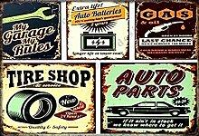UNiQ Designs Cave Garage Themen Tire Shop. Auto
