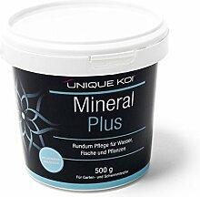 Unique Koi Mineral Plus 500 g für gute und stabile Wasserwerte