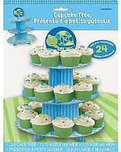 Unique Party Supplies / Cupcake-Ständer 1 Geburtstag Kleine Schildkröte