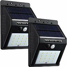 UniqueFire Solarleuchten für Außen,16LEDs