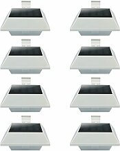 Uniquefire Weiße Solarlampe 12 LEDs Dachrinnen