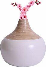 Uniquewise QI003356W.S Vase aus gesponnenem