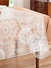 Unisex Tischdecke 'Ornament' glasklar
