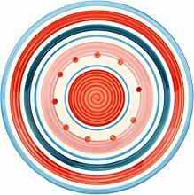 Unitable Essteller Cefalu - Blau, Rot & Rosa im