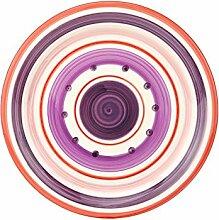 Unitable Essteller Cefalu - Rot, Violett & Rosa im