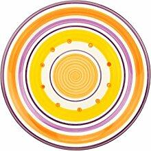 Unitable Essteller Cefalu - Violett, Orange & Gelb