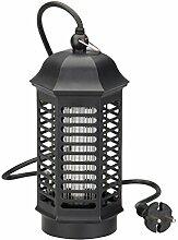 Unitec Insektenvernichter, UV-Lampe 4 W, schwarz, 25.50 x 12.50 x 12.50 cm, 3984.4 ml, 41034
