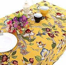 UniTendo Leinen-/Baumwoll-Tischdecke/Tischdecke im