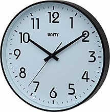 UNITY Fradley Wanduhr, geräuschlos, 30 cm,
