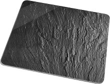 Universal Abdeckplatte Schiefer, grau