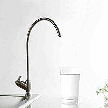 Universal-Edelstahl einzigen kalten Küchenarmatur Wasserfilter direkt Trinkwasser unverbleites