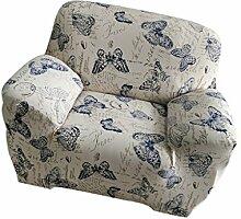 Universal Einfarbige Stretch Sofabezüge Sofahusse