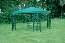 Universal Ersatzdach Metallpavillon 3x3 grün extra schwere Qualität 230 g/m2