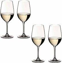 Universal-Glas für Rot- und Weißwein - 4 Stück