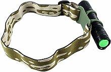 Universal Stirnband Halterung Taschenlampe Halter Ultrafire/Surefire/Fenix