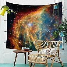 Universum Galaxie Sternenhimmel Wandteppich