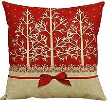 Unke Vintage Weihnachten Sofa Bett Kissenbezug Home Decor