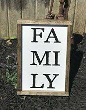 Unknow Familienschild, Familiendekoration,