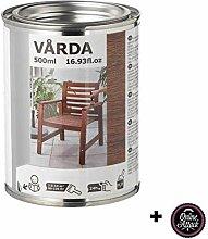 unknow Varda IKEA Holzlasur für draußen, braun