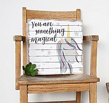 unknow Wandtafel Einhorn-Motiv - You Are Magical