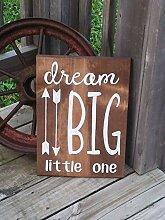 unknow Wandtafel für Kinderzimmer, Motiv: Dream