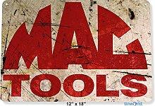 Unoopler Blechschild Mac Tools Rost Auto Garage