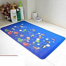 Unscented Badezimmer Matte/Hotel Dusche Massagematte/Badezimmer Türmatte/Fußmatten-B 36x69cm(14x27inch)