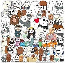 Unser nackter Bär Aufkleber niedlichen Cartoon