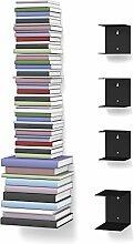 Unsichtbares Bücherregal 3-1 Set variabel mit 8