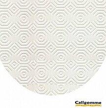 Unter Tischdecke Luxe Oval 150cm (Versand auf Tube Karton), weiß, Ovale 150x200 cm