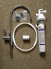 Unter Waschbecken Wasser Filter & Wasserhahn System/Kit mit 3M ap2-c405-sg (nicht Brita)