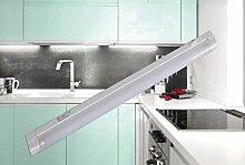 Unterbauleuchte weiß mit Schalter T5 230V 8 Watt / Art. 2325 / Lichtleiste Leuchtstofflampe Arbeitsleuchte Vitrinenleuchte Schrankleuchte Möbellicht EVG Wandleuchte Aufbauleuchte