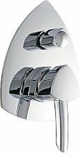 Unterputz 3-Wege Ventil Duscharmatur Wannenarmatur