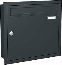 Unterputz Briefkasten CLASSIC 534-UP-7016 - RAL
