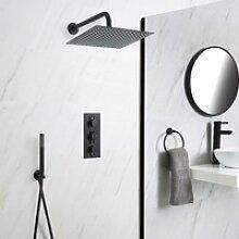 Unterputz Duschsystem mit Thermostat - mit