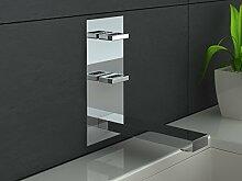 Unterputzarmatur 3-Loch Waschtisch-Armatur für die Wandmontage Zweigriffmischer MODERNES DESIGN! Nexen QW196U