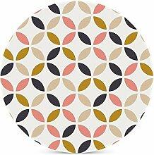Untersetzer im skandinavischen Stil, geometrisches