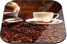 Untersetzer Kaffeegenuss B x H: 10cm x 10cm - 20er Pack von Klebefieber®