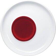 Untertasse 16cm  touch! Five Senses Rot Porzellan KAHLA (17,95 EUR / Stück)