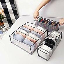 Unterwäsche-Organizer, Socken-Schublade,