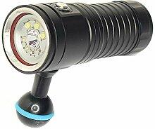 Unterwasser-Multifunktions-Taucherlampe,